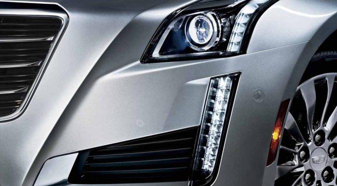 GMジャパン、キャデラックのラグジュアリー・セダン「CTS」のフロントデザインを刷新