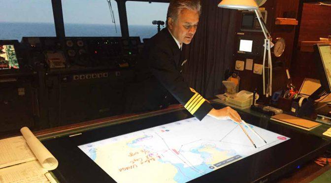 日本無線、電子海図をコネクテッド化。航海情報管理は新時代の幕開けへ