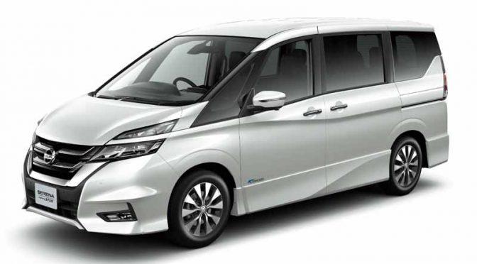 日産自動車、「セレナ」の特別仕様車「Vセレクション・同ライダー等を発売