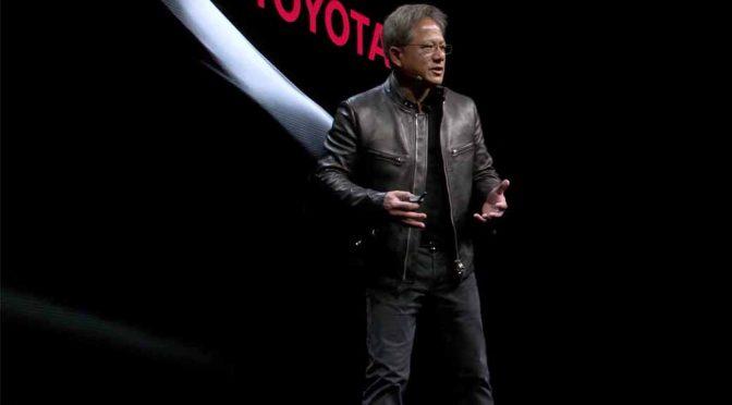 NVIDIA、トヨタ自動車が開発する自動運転システムの人工知能(AI)に技術提供へ