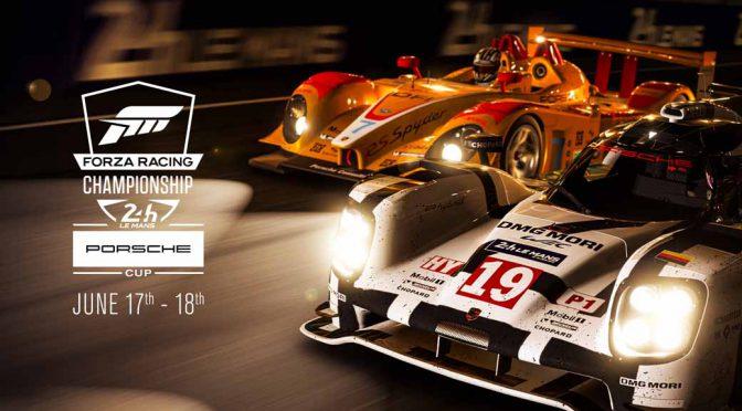 ポルシェ+マイクロソフト+ACO、ル・マン24開催時にeスポーツレースイベントを24時間実施