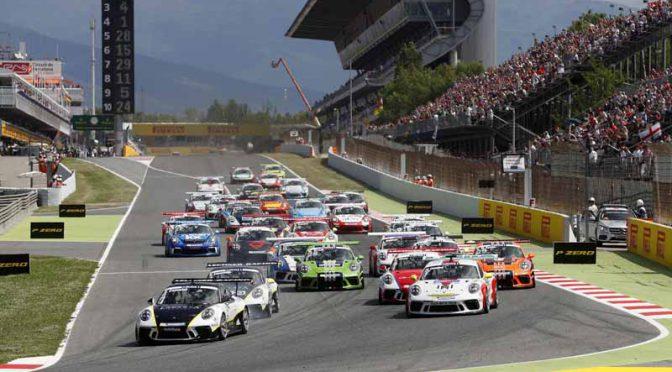 ポルシェ・モービル1スーパーカップ第2戦、バルセロナでアメルミューラーがランキング首位に