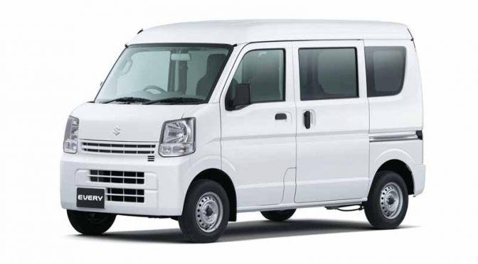 スズキ、軽商用車「エブリイ&同車いす移動車」に4AT車を設定して発売