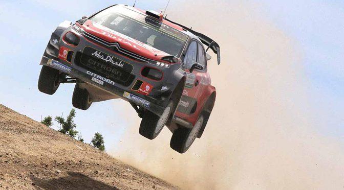 2017年WRC第7戦ラリーイタリア、シトロエン陣営は総合8位に終わる