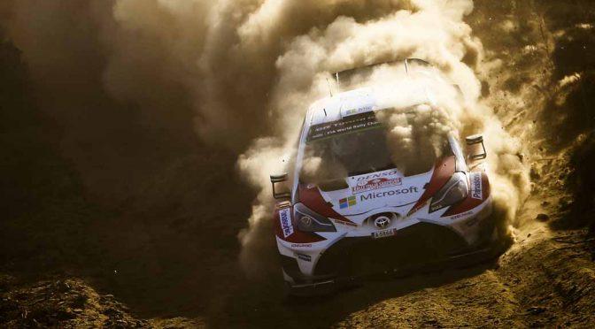 WRC第7戦ラリー・イタリア、トヨタ陣営はラトバラが総合2位・ラッピ4位・ハンニネン6位で完走