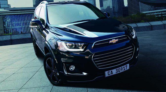 GMジャパン、7乗りSUVのシボレー キャプティバ パーフェクト ブラック エディションⅡ発売