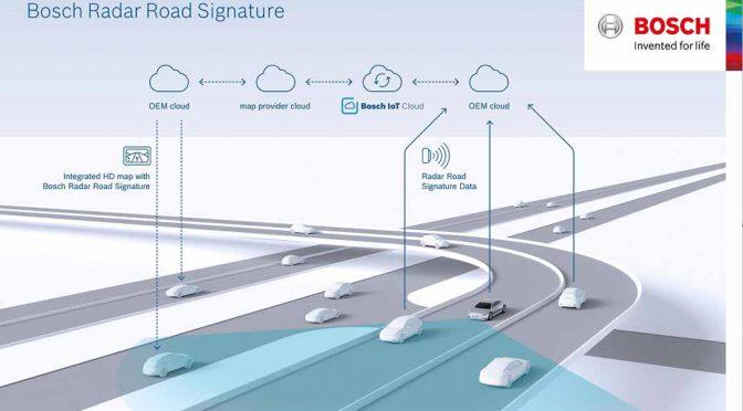 ボッシュ、レーダー情報を活用した自動運転用マップを世界初開発