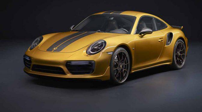 独・ポルシェ、全世界500台限定の「911ターボSエクスクルーシブ」を発売