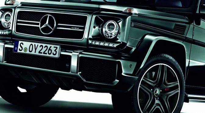 メルセデス・ベンツ日本、「AMG G 63」に右ハンドル仕様を追加
