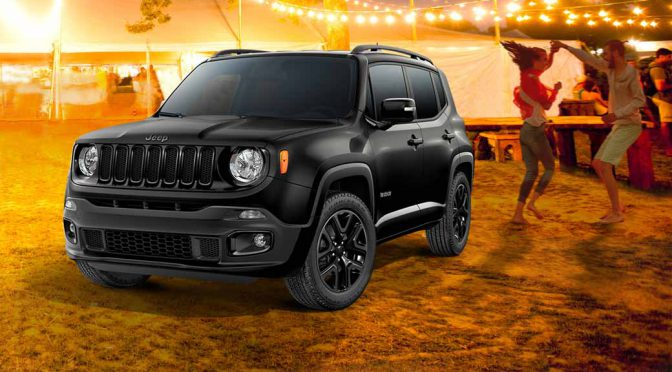 FCAジャパン、「Jeep Renegade Night Eagle」を6/10発売