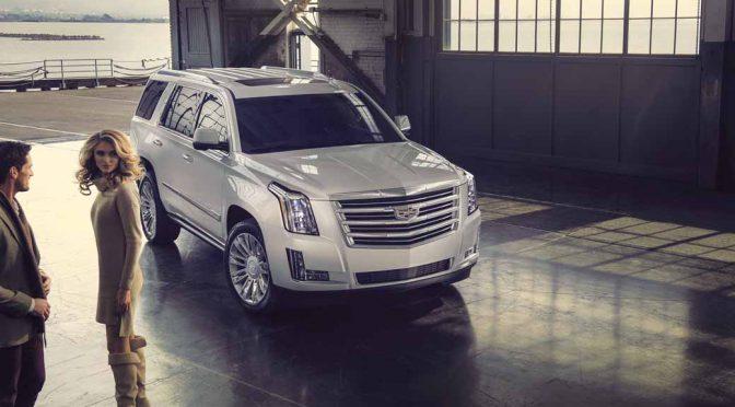 GMジャパン、新型「キャデラック エスカレード」を発表