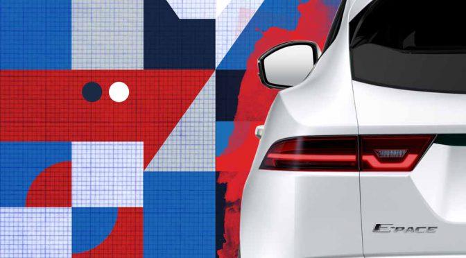 ジャガー、C-SUVの新型「E-PACE」を7/13に世界初披露