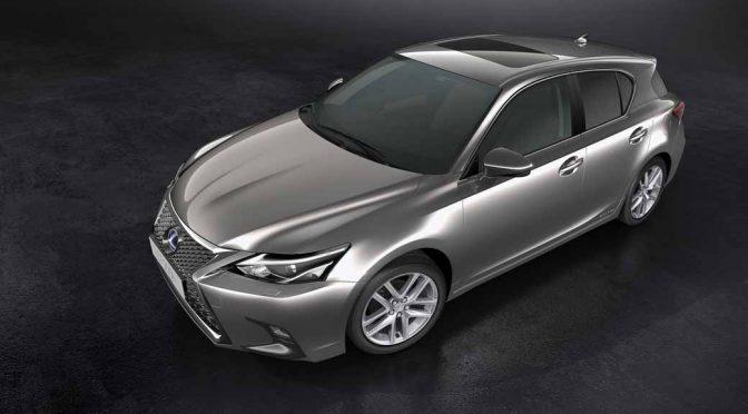 レクサス、Lexus Safety System +を標準装備した新型「CT」を世界初公開