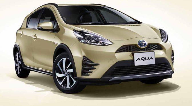 トヨタ自動車、アクアにクロスオーバースタイルを導入