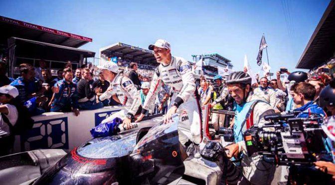 伝統のル・マン24時間レース2017、ポルシェが辛くも総合優勝を獲得