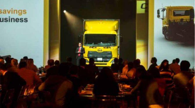 UDトラックス、中東で「クローナー」発表イベントを開催