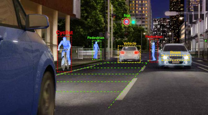 東芝の車載向け画像認識用プロセッサ、デンソーの前方監視カメラシステムに採用