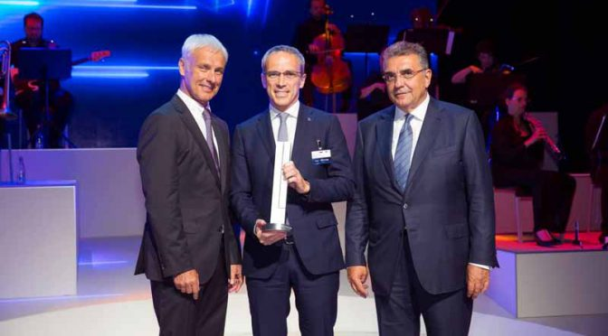 ブリヂストングループ、Volkswagen Group Award 2017を受賞