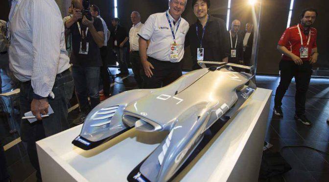 ミシュランのデザインコンペ作、ル・マンで披露。2030年の耐久マシンに想いを馳せる