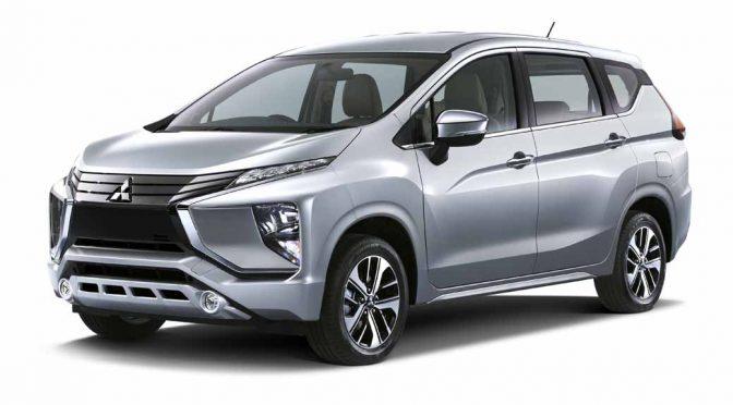 三菱自動車工業、インドネシアで新クロスオーバーMPVを世界初披露