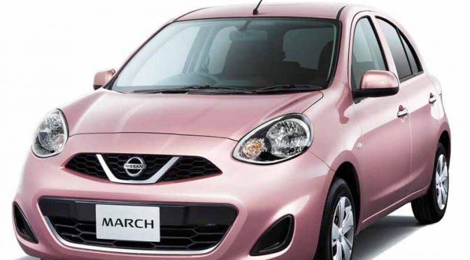 日産自動車、マーチに新グレード「パーソナライゼーション」を追加