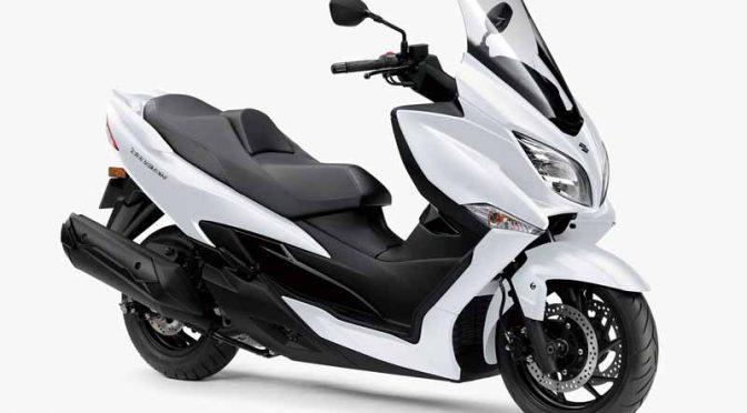 スズキ、ラグジュアリースクーターの新型「バーグマン400 ABS」を発売
