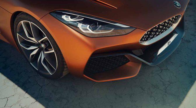 BMW、「コンセプトZ4」をペブルビーチ・コンクール・デレガンスで初披露