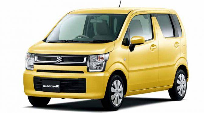 スズキ、軽乗用車・新型「ワゴンR」に5MT車を追加