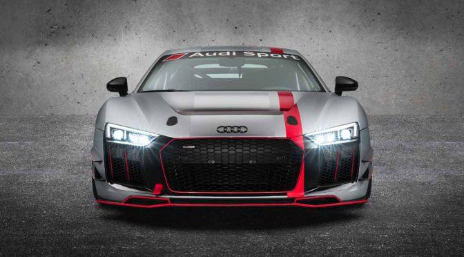 アウディジャパン、「Audi R8 LMS GT4」日本初披露。来季シリーズ投入へ