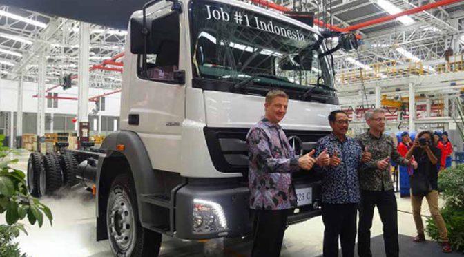 ダイムラーINDIAと三菱ふそう、インドネシアでメルセデスベンツトラックの生産開始