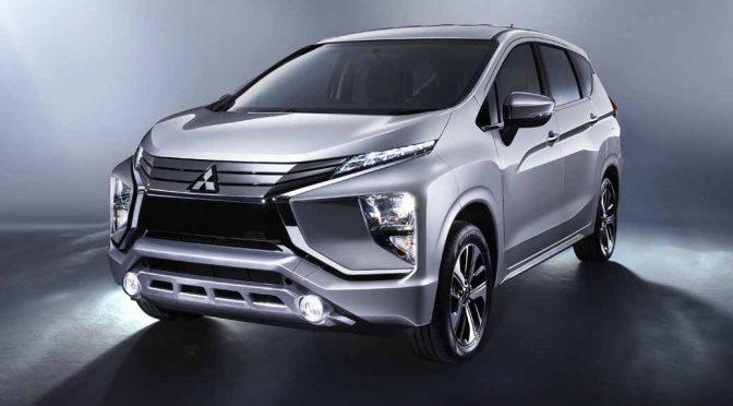 三菱自動車工業、インドネシアでクロスオーバーMPV「エクスパンダー」を世界初披露