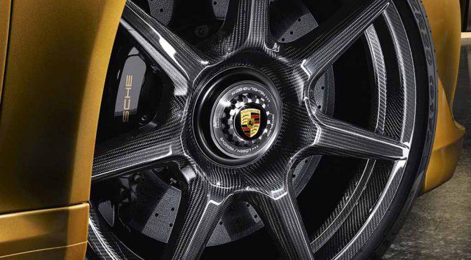 ポルシェ、自動車搭載用としては世界初のブレイデッドカーボンホイールをリリース