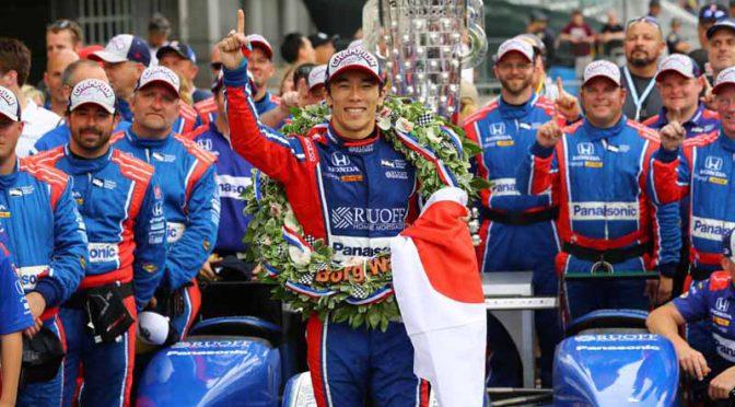 佐藤琢磨、インディ500制覇に至る軌跡を収録したBlu-ray予約受付開始