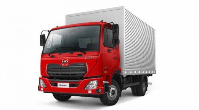 UDトラックス、インドネシアで新型小型トラック「クーザー(Kuzer)」を発表
