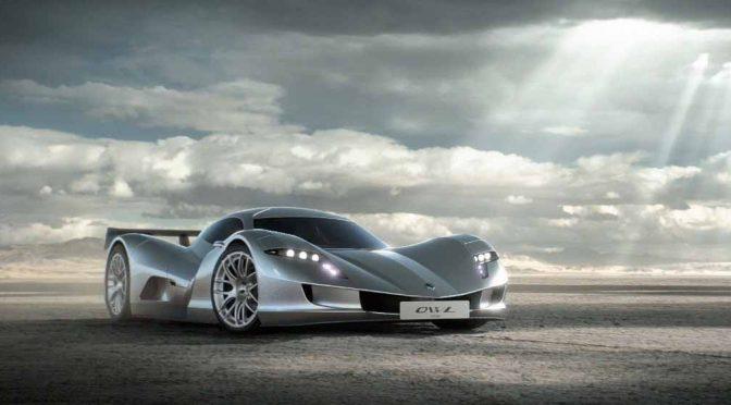 アスパーク、EVスーパーカー「owl」をフランクフルトでワールドプレミア