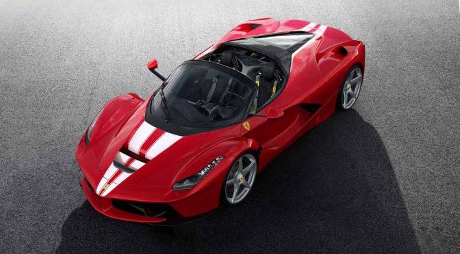 伊・フェラーリ、特別なLaFerrari Apertaをオークション出品
