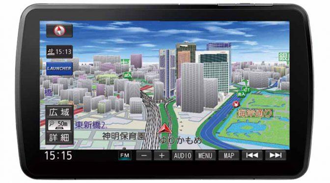 パナソニック、9V型大画面SDカーナビステーション・スタンダード2機種を発売