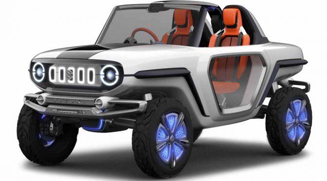 スズキ、東京モーターショー2017に未来のジムニーを出展