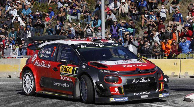 シトロエンC3 WRCとクリス・ミーク、スペインラウンドで今季2勝目を獲得