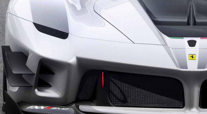 フェラーリ、レーストラック限定の最新XX系「新型FXX-K Evo」を世界初公開