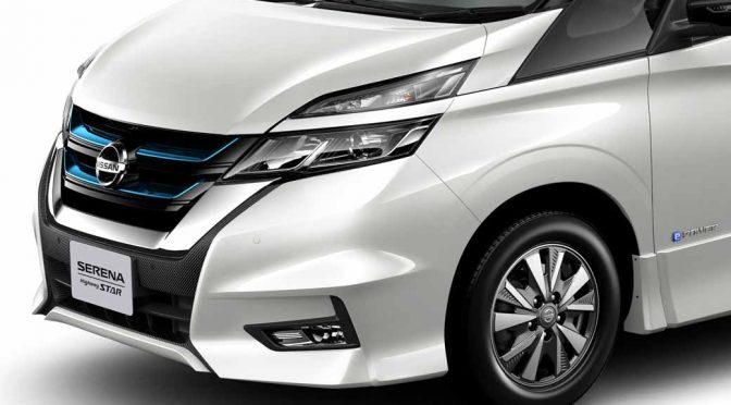日産自動車、プロパイロットのセレナにe-POWERを追加。東京モーターショー初披露