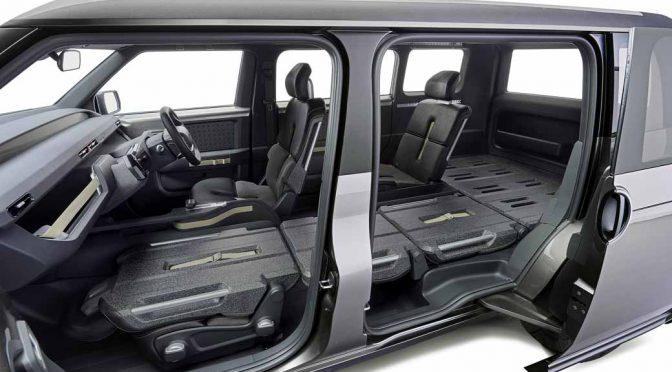 トヨタ自動車、東京モーターショーでVANとSUVを融合させた新コンセプト車を提案