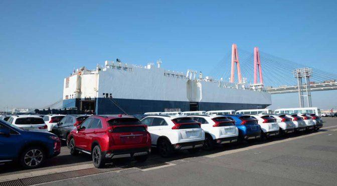 三菱自動車工業、新コンパクトSUV「エクリプス クロス」豪州仕様車の出荷開始