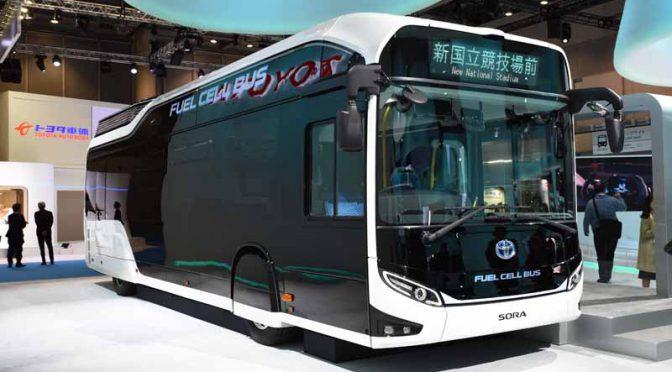 帝人、マルチマテリアル技術でトヨタのFC量産バスの商品化に応える