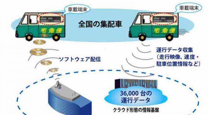 ヤマト運輸、全集配車両に日立の車載端末を搭載へ。安全運行の高度化を目指す