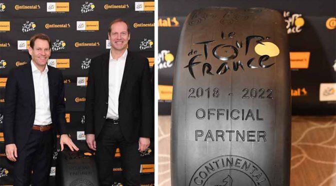 コンチネンタルタイヤ、ツール・ド・フランスの5年間のスポンサー契約に合意