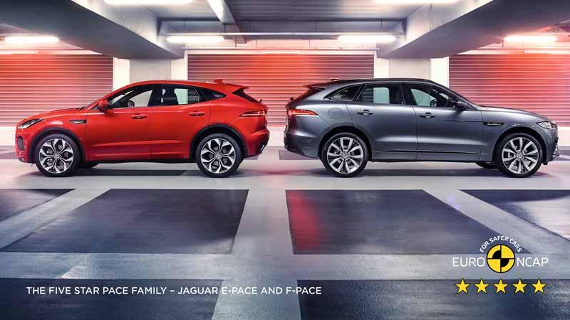 ジャガー f pace ユーロncap安全性評価で5つ星を獲得 motor cars