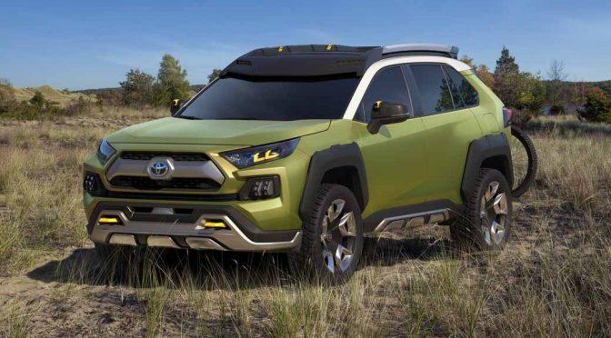 トヨタ自動車、ロサンゼルスショーに小型SUVコンセプト「FT-AC」を出展