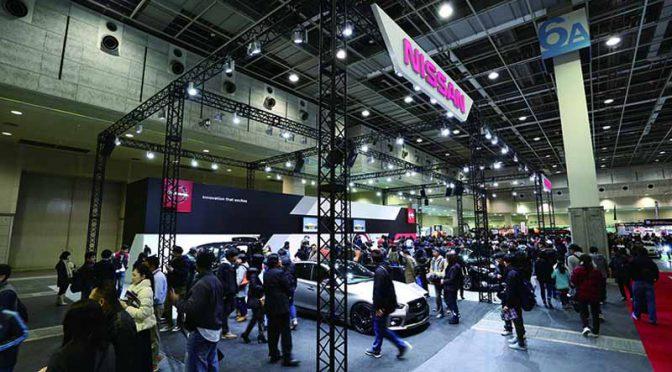 大阪オートメッセ2018、2018年2月10日の土曜日に開幕