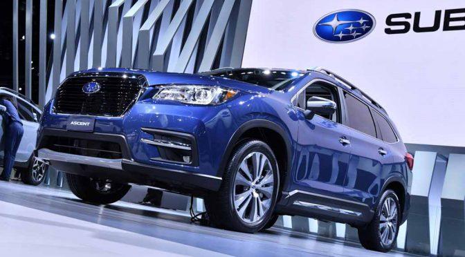 SUBARU、北米専用の新型3列SUV「ASCENT(アセント)」を世界初公開